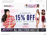 7f7300e5a Dollygirlfashion.com Coupon Codes 2019 (20% discount) - June promo ...