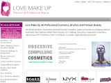 Love-Makeup.co.uk Coupon Codes